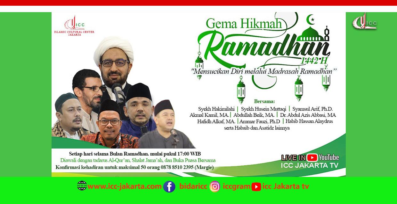 Tadarus dan Ceramah ICC Jakarta Ramadhan 1442 H /2021