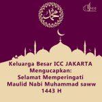 Selamat Memperingati Maulid Nabi Muhammmad saw 1443 H